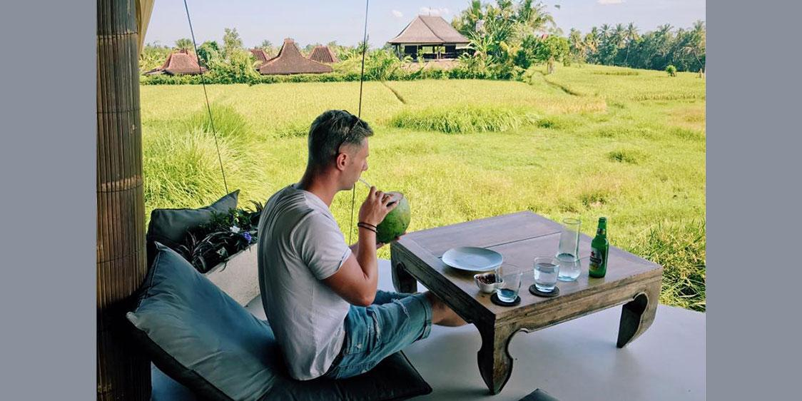 Johnny Ward in Indonesia