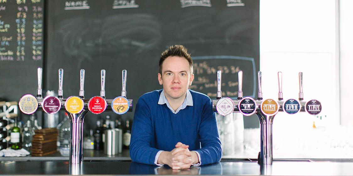 James Huey - Walled City Brewery
