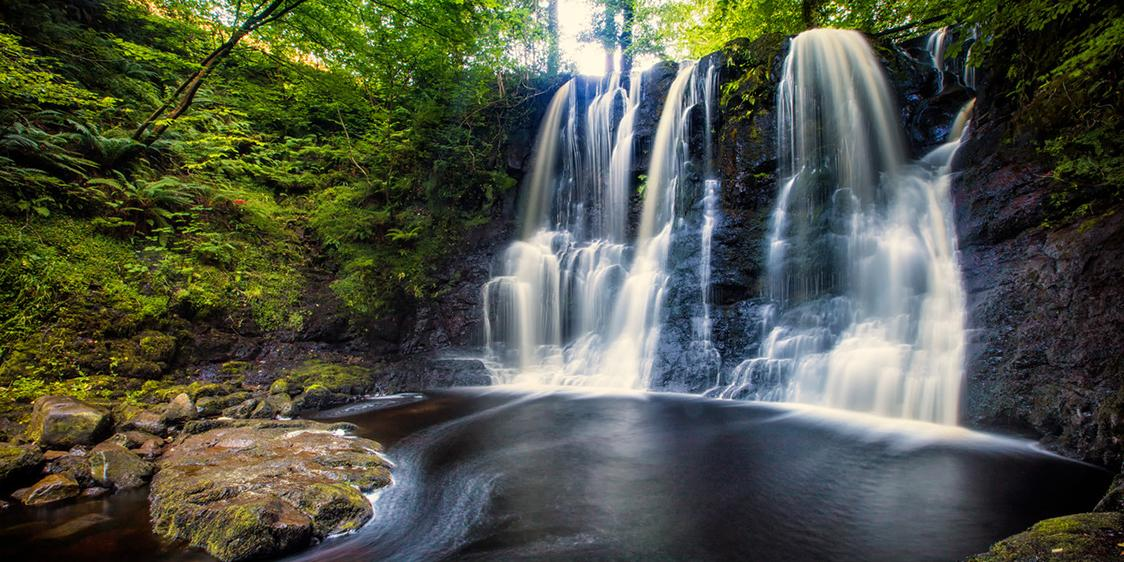 Glenariff Waterfall